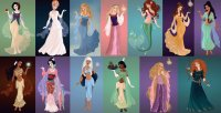 Princesses as goddesses