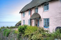 Pink Cottage Cornwall