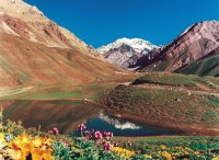 Mendoza Argentina, Andes mountains