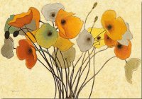 Pumpkin Poppies I