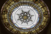 San Martin mall's Stained Glass Ceiling