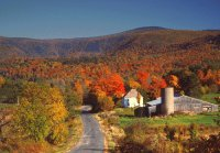 Berkshires in fall
