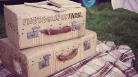 country suitcases