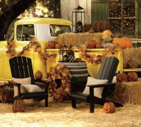 fall outside decoration