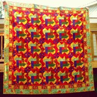 fall color quilt