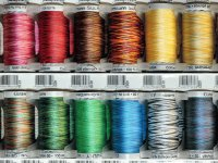 multicolour Silk thread reels