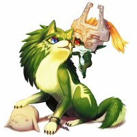 Midna and Link 1