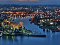 Koblenz by night