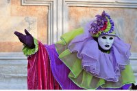 Dressed for Carnevale -Venice