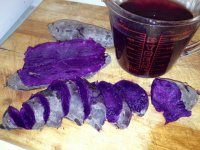 Cooking Purple Yams