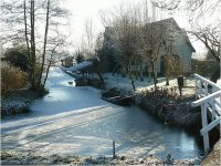 Winterlandscape in the Netherlands