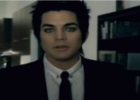 its adam lambert in his video whataya want from me