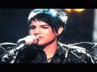 its adam lambert singing with kiss