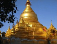 Swedagon Pagoda  Rangoon  Birma