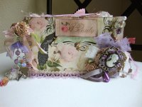 Vintage Purple Decor