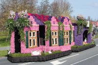 Flower parade  Bollenstreek  the Netherlands