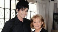 adam lambert and one the view people