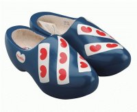 Dutch wooden shoes  from the province  Friesland