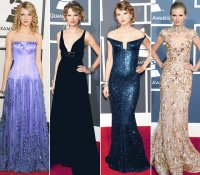 taylo swifts grammy outfits