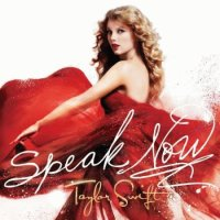 taylor swifts speak now album cover