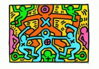Painting from Keith Haring