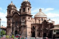 Church in Cusco  Peru