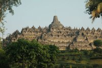Borobudur  East Gate