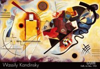 Wassily Kandinsky  Yellow Red and Blue