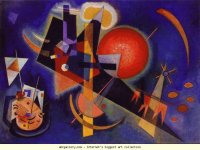 Wassily Kandinsky in Blue