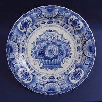 Delfts Blue Plate  made by Royal Delft