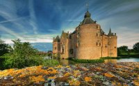 Castle Ammersoyen  Ammerzoden the Netherlands