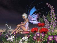 Fairy around with Flowers