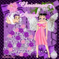 Betty Boop Christmas Angel