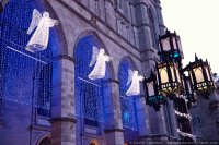 Angel Lights at Notre Dame Basilica-Montreal