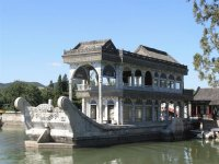 Marble Ship in Summer Palace  Beijing