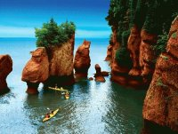 Bay of Fundy  Nova Scotia  Canada