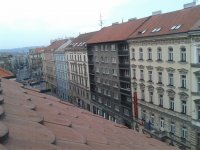 View from hotel, Prague