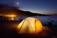 Camping Isthmus Cove, Two Harbors-Catalina Island
