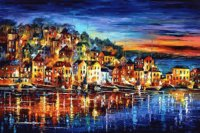 As cores de Leonid Afremov