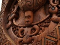 Maori carving  New Sealand