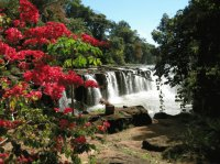 Waterfall Paxuam  South Laos