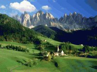 Val di Funes  Dolomiters  Italy