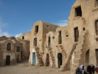 Ksar Houses in the Sahara