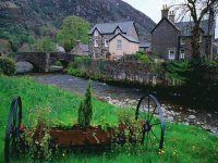 Stone Village of Beddgelert  Wales UK
