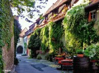 Summer in Rothenburg o/d Tauber  Germany