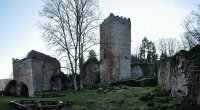 Ruine Wildenburg  Bayern  Germany