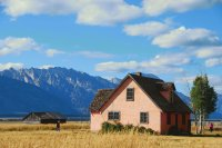 Mormon Row House, Grand Teton N.P