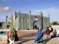 Blue Mosque in Mazar al Sharif  Afghanistan