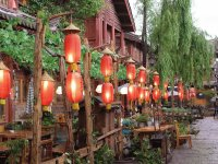 Restaurant in Lijiang  Yunnan  China