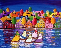 Whimsical Sailing